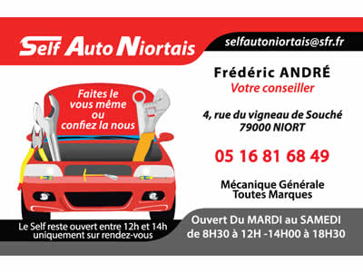 R f rences clients portfolio de l 39 agence web niort tisse for Self auto niortais garage automobiles niort